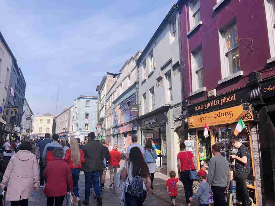 愛爾蘭打工度假 - city view