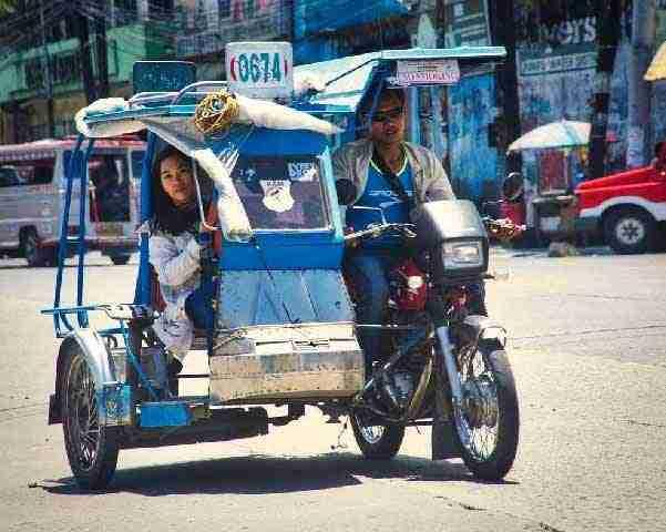 菲律賓交通方式 - Tricycle