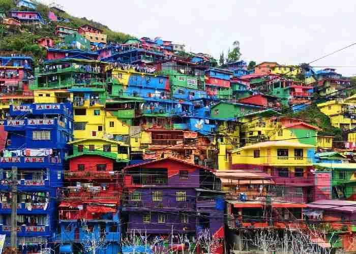 菲律賓遊學必玩必去觀光彩虹谷
