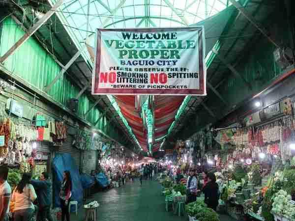 菲律賓語言學校觀光Baguio city public market 當地市場