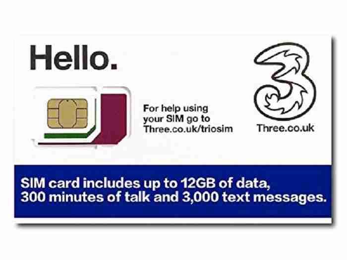 愛爾蘭4大電信怎麼選 網路sim卡推薦哪家 Three 3