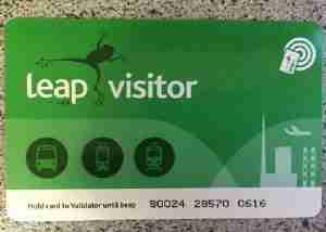愛爾蘭交通攻略Leap Card怎麼申請
