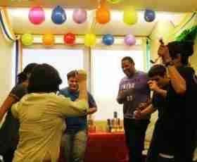 UMC語言學校 party