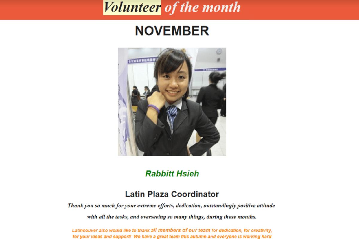 加拿大CICCC學生心得分享-阿兔-Latincouver志工日誌