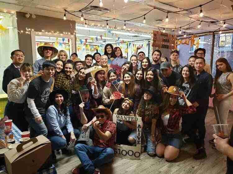 【加拿大遊學特派員Christine】跟同學一起從零到有舉辦牛仔派對!